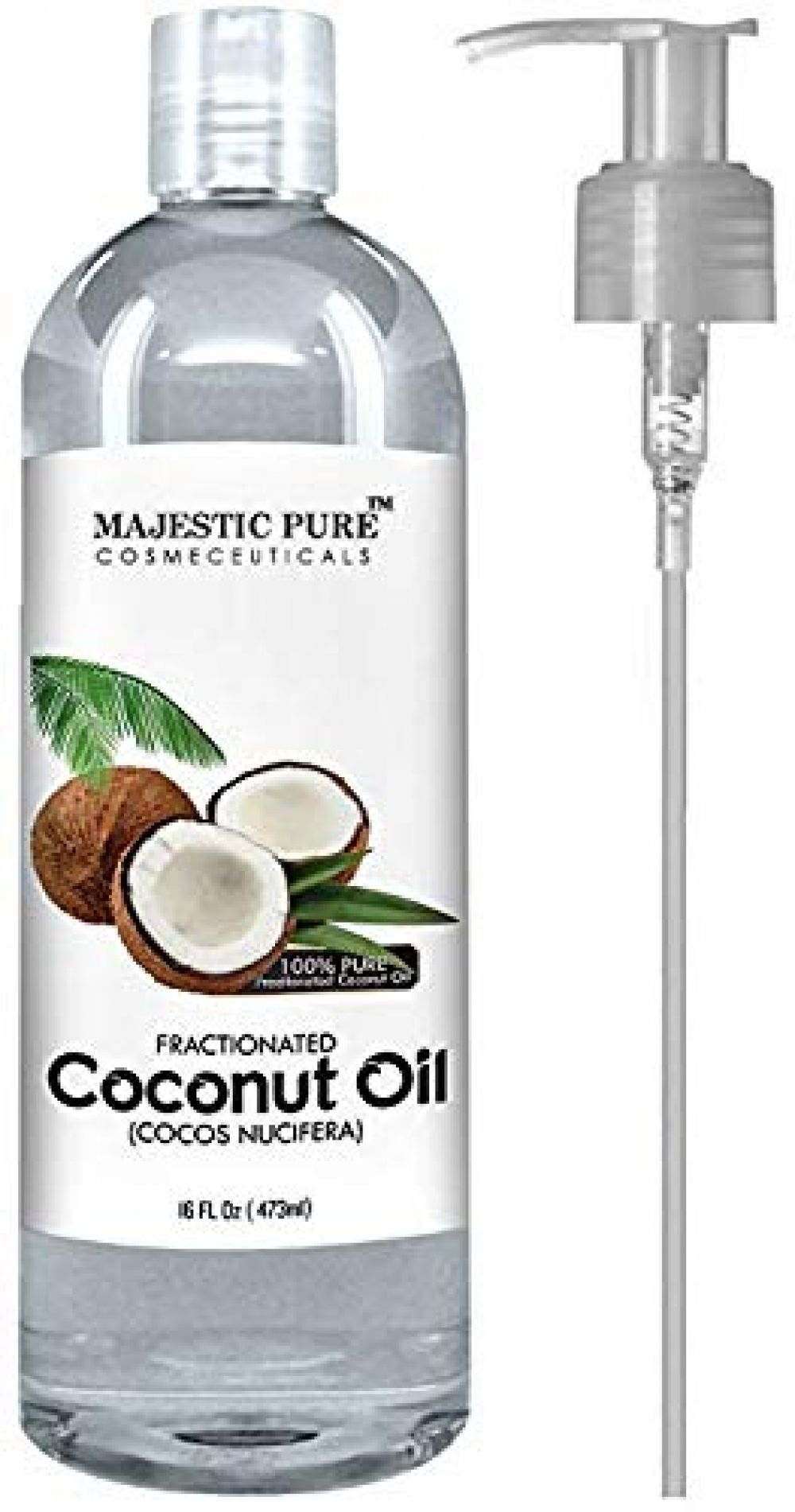 Majestic Pure Fractionated Coconut Oil For Aromatherapy Relaxing Massage Carrier Oil For Dilu Aromatherapy Carrier Oils Coconut Oil For Acne Coconut Oil Uses
