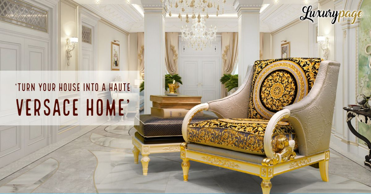 Versace Home Collection In India Versacehome Luxuryinteriors Versacehomecllection India Houseofversace Donatellav Versace Home Interior Italian Furniture