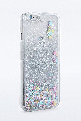 Water Glitter Iphone 6 Case Urban Outfitters Phone Case Glitter