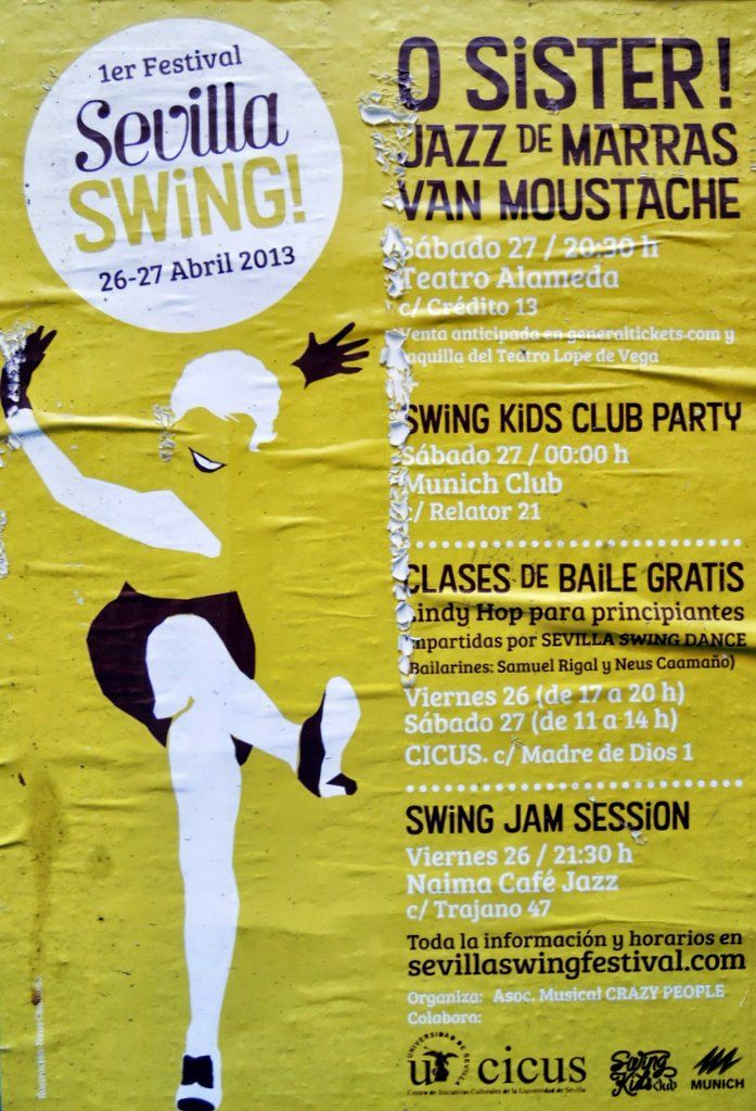 Sevilla swing festival 2013 - poster