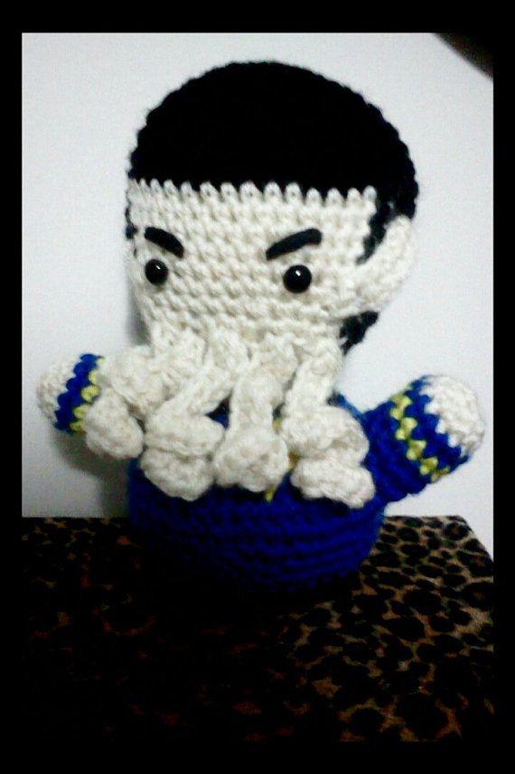 Star Trek Spock crochet amigurumi plush by NerdigurumiNation ...
