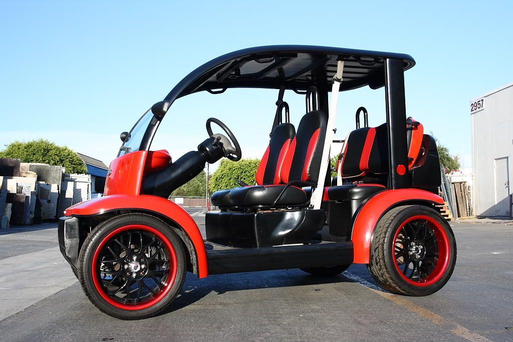 A Fantastic Golf Cart Design by Honda Golf carts, Ford