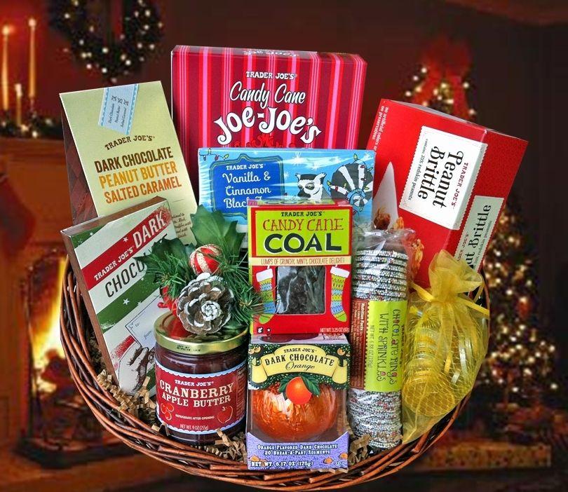 Santa Barbara Gift Baskets - Trader Joes Christmas Cheer, $74.95 ...