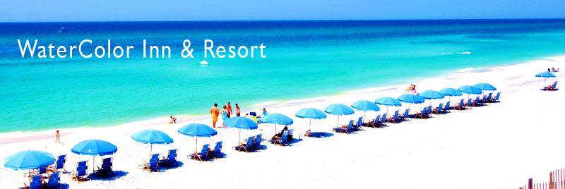 Watercolor Seaside Florida Watercolor Resort South