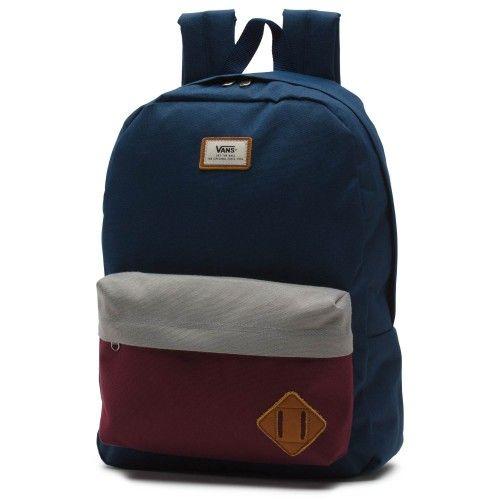 e760d3817e5f Vans  Old Skool II Backpack Port Royale Colorblock