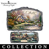 Thomas Kinkade Warm Welcome Wall Decor Collection