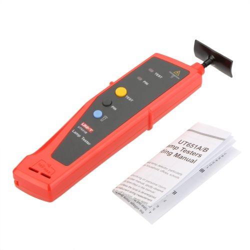 Uni T Ut651b Handheld Lamp Tester Detector Led Light Bulbs Tester