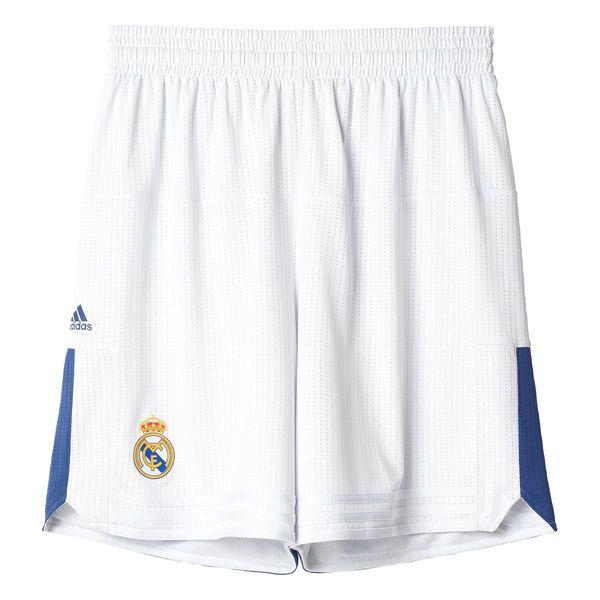 Real Madrid adidas 2016 17 Home Basketball Shorts - White -  59.99 ... 3b5b5595474c2
