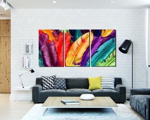 Imagenes de cuadros modernos para salas peque as feather and birds pinterest - Cuadros minimalistas para sala ...