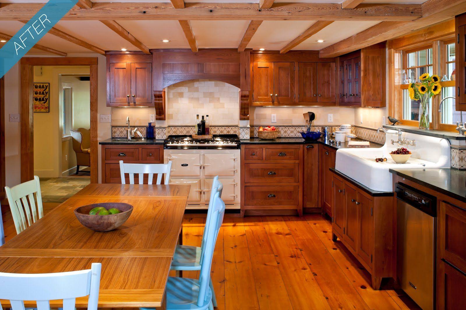 Carpenter Gothic Kitchen | Gothic kitchen, Pine kitchen ...
