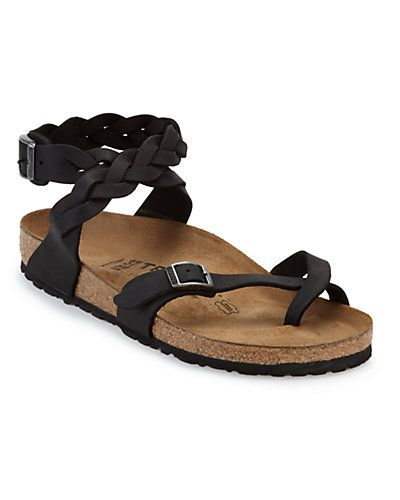 Tatami by Birkenstock 'Yara Braided' Leather Sandal | Sock