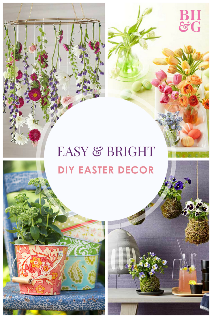 40 Quick And Easy Easter Decorations You Can Make Today Easy Easter Decorations Diy Easter Decorations Easter Decorations