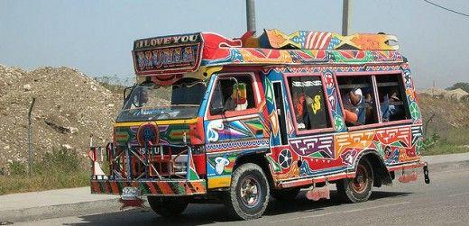Port Au Prince Haiti Taxis Al Cars Art Too