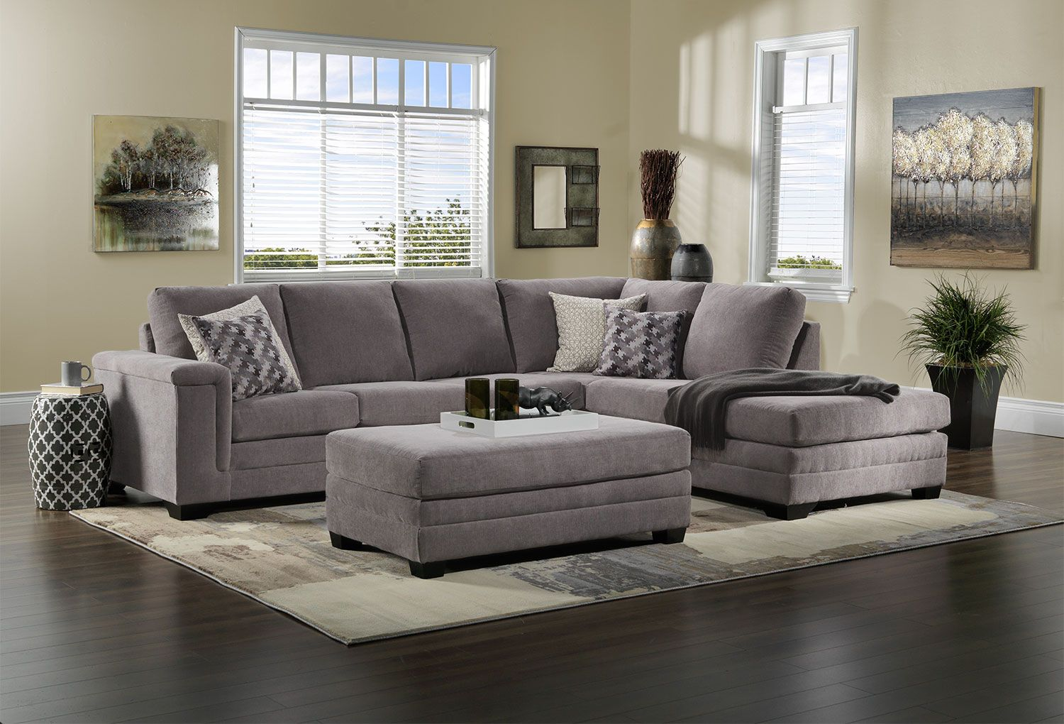 Terrific Light Touch The Leighton Sectional Will Transform Your Lamtechconsult Wood Chair Design Ideas Lamtechconsultcom