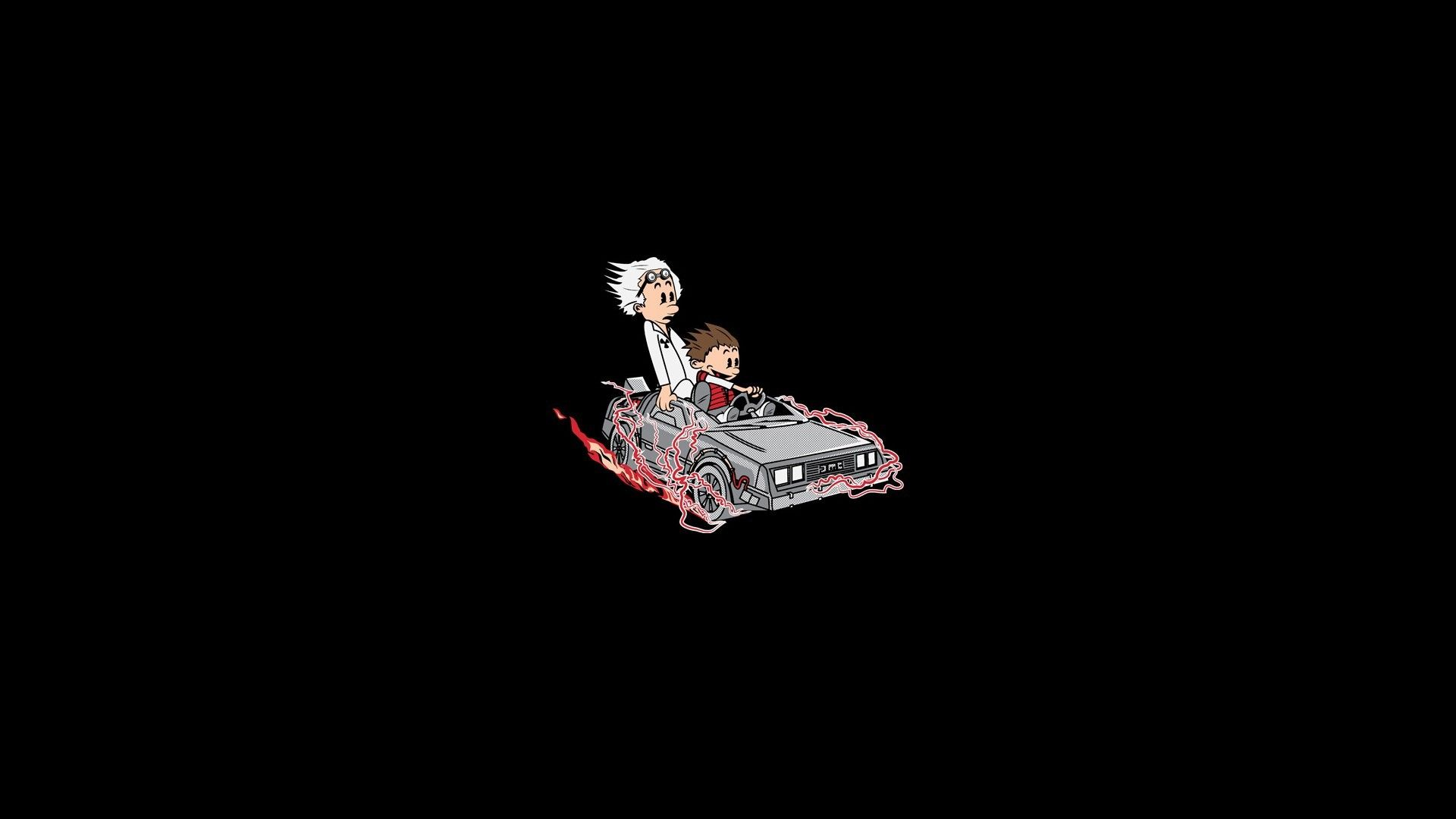 General 1920x1080 Back To The Future Calvin And Hobbes In
