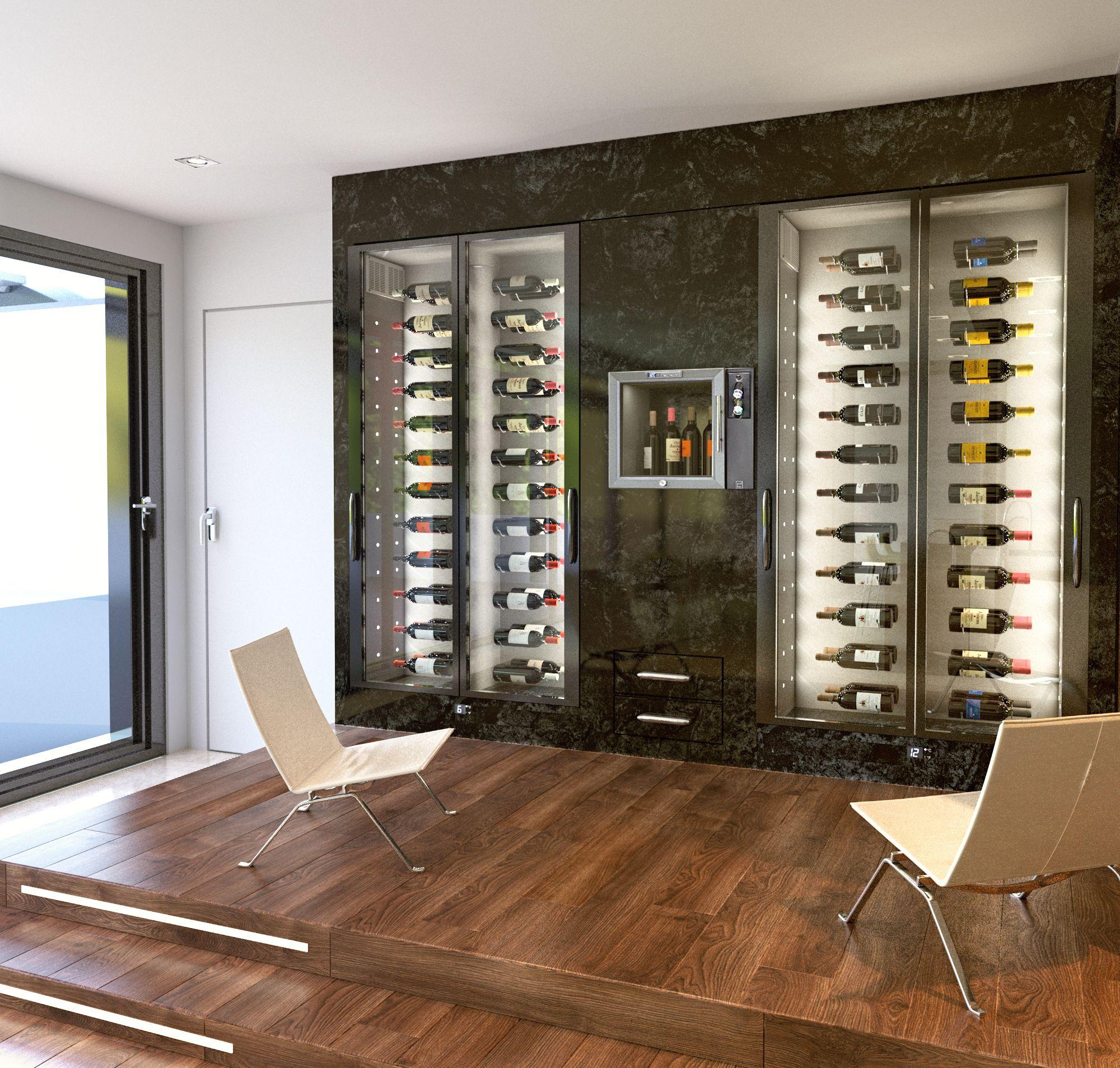 Cave A Vin Sur Mesure Vin En Scene Avec Advineo Home Wine