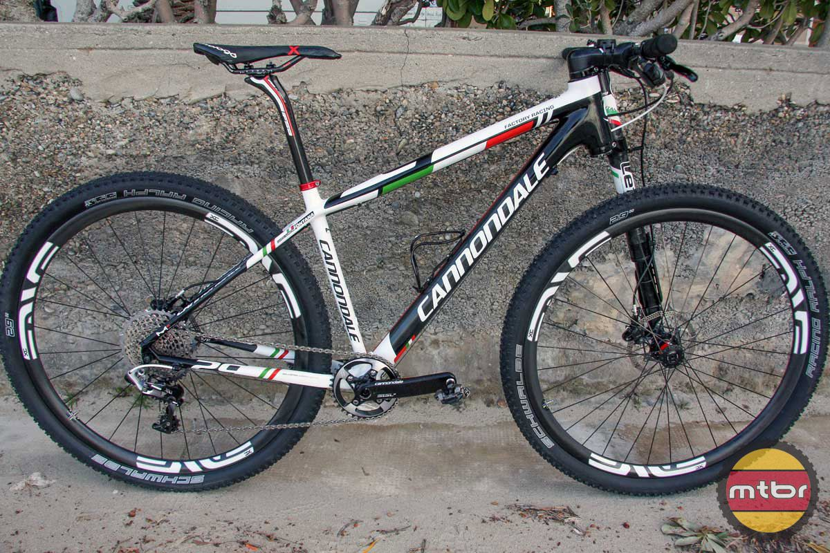 Marco Fontana\'s Cannondale F29 carbon lefty | All Mountain ...
