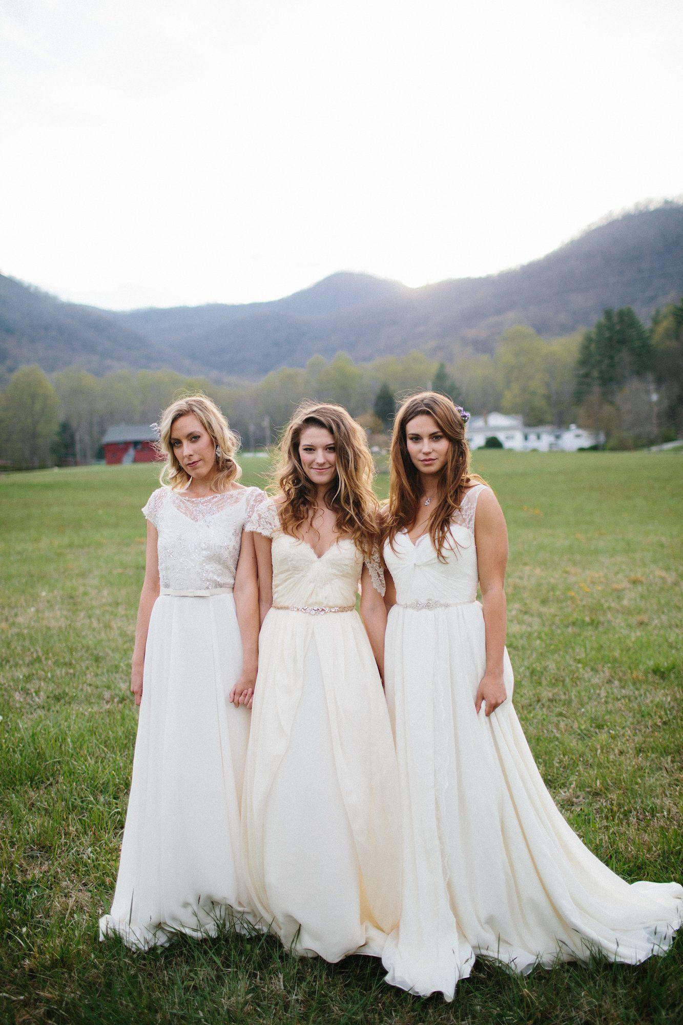 flowy wedding dress, casual wedding dress, outdoor wedding
