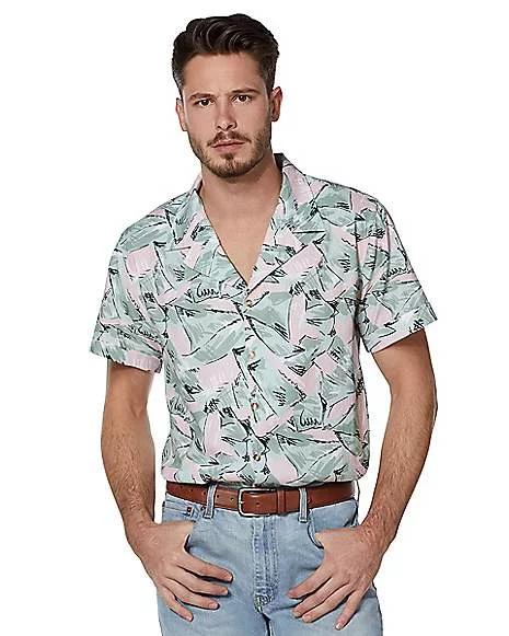 Eleven Jim Hopper Hawaiian Shirt Button Down Shirts Halloween Cosplay Tops