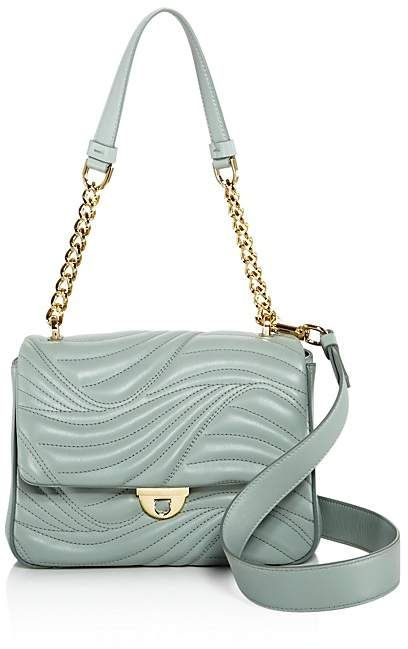 exclusivo Lexi Salvatore bandolera cuero Small Ferragamo de Waves 100 qxxw581S