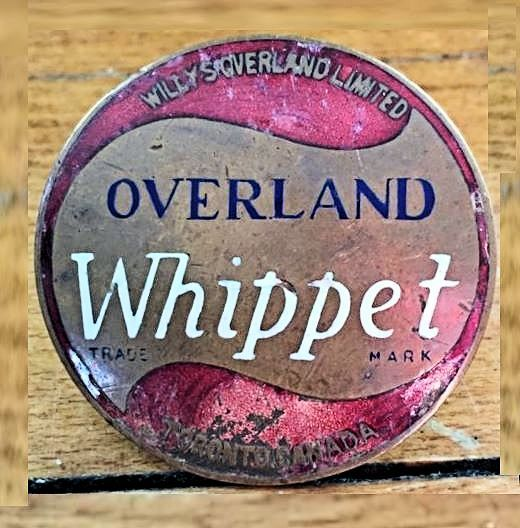 Willys Overland Whippet Badge Hood Ornaments Car Badges Car Emblem