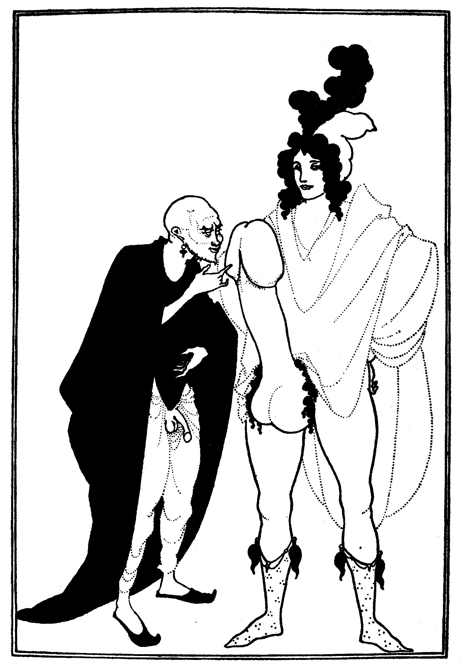The Examination of the Herald - Aubrey Beardsley