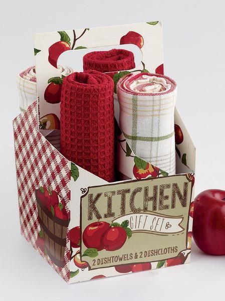 Wholesale Apple Orchard Kitchen Gift Set Apple Kitchen Decor Kitchen Gift Apple Decorations