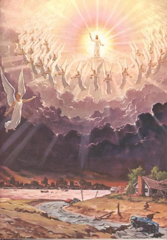Jesus Christ With Angels Singing Around Him While His -5105