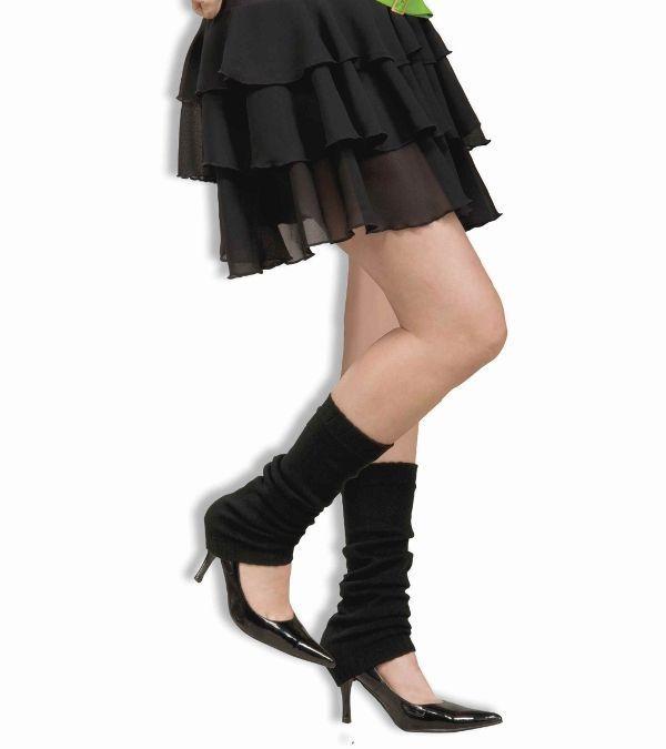 80s Black Leg Warmers | Black leg warmers, 1980s fashion ...