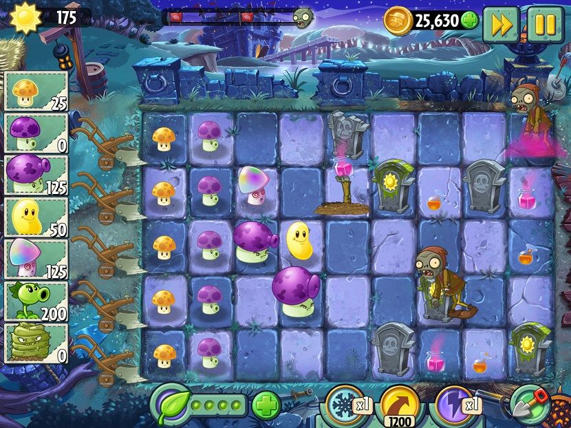 Coloring Pages For Plants Vs Zombies : Lets go to plants vs zombies generator site new plants vs