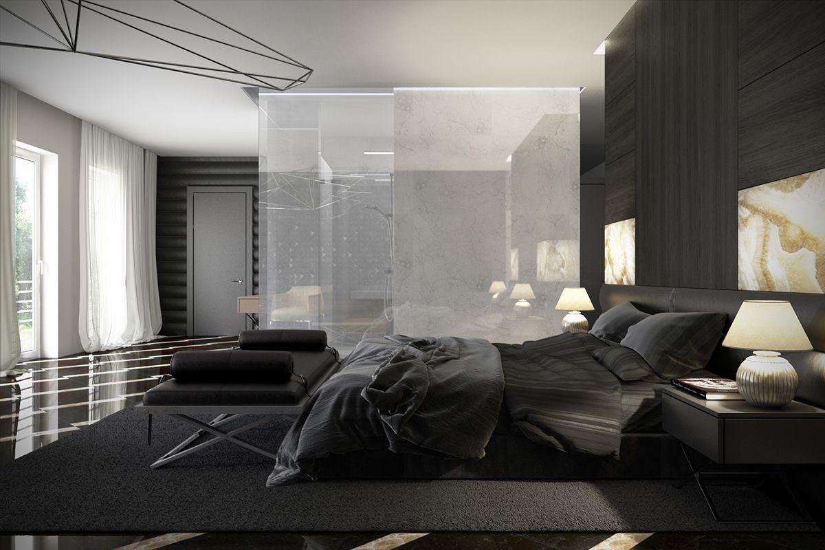 Bedroom, Modern Bedroom Designs 2014 White Green Black Bedroom ...