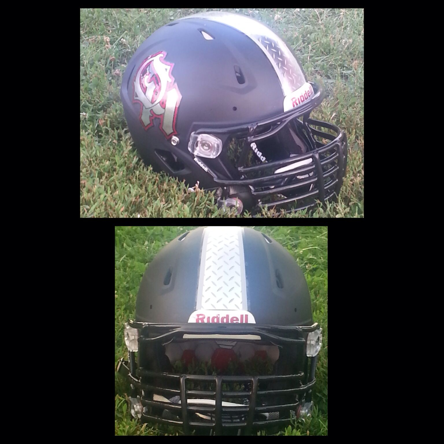 Check Out The Latest Football Helmet Decals For The Oak Hills Little  Highlanders Football Team.