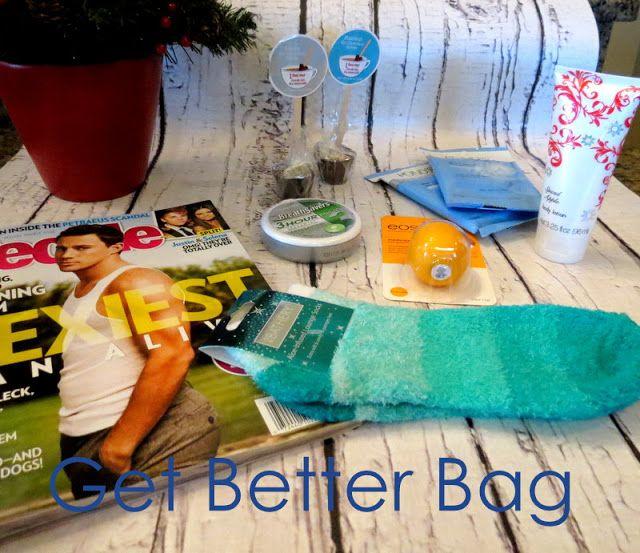 Get Better Gift Ideas Gift Basket Ideas Hospital Gifts