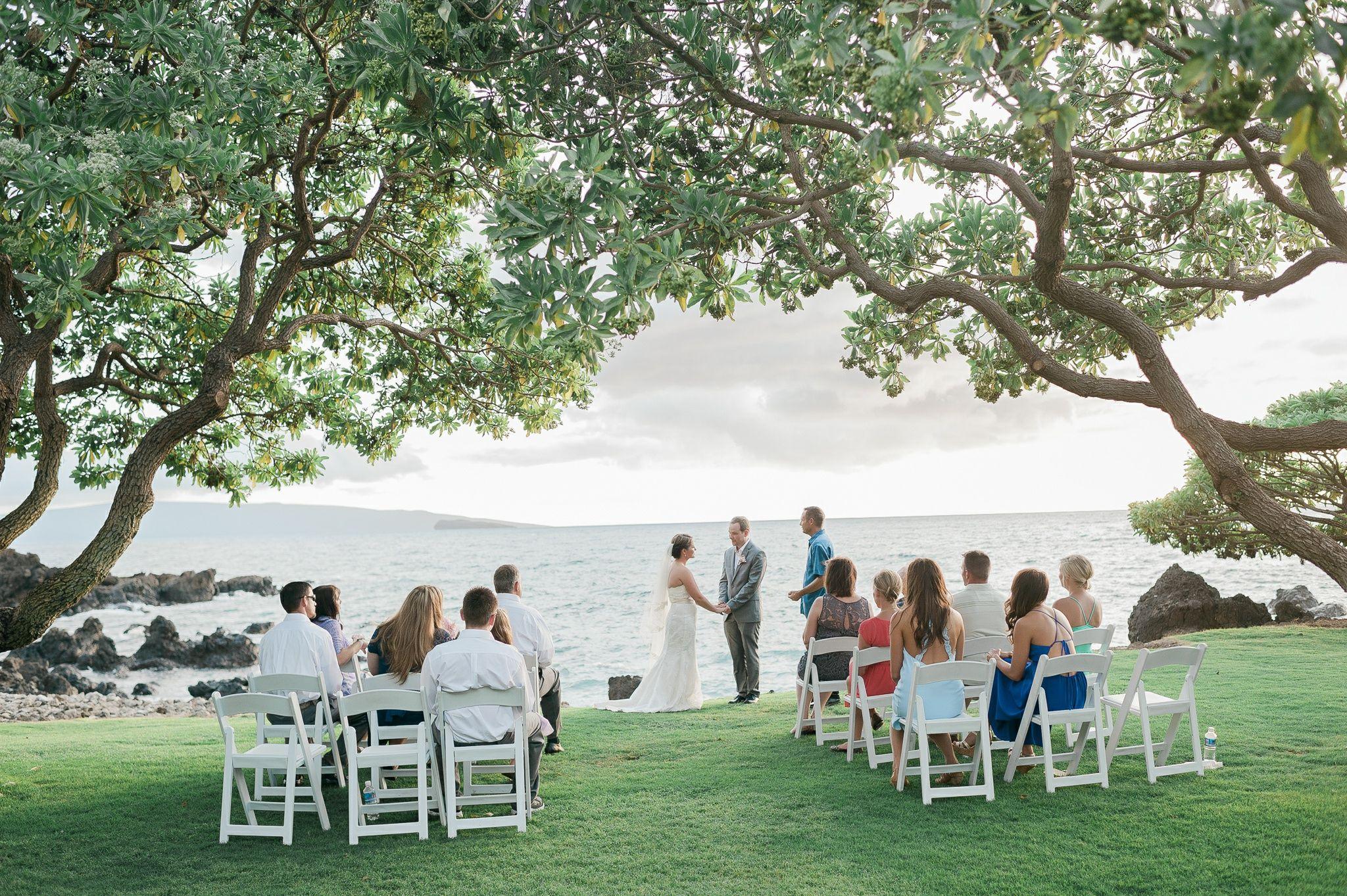 Intimate Wedding At Kukahiko Estate Maui Hawaii Hawaii Wedding Packages Hawaii Wedding Intimate Wedding