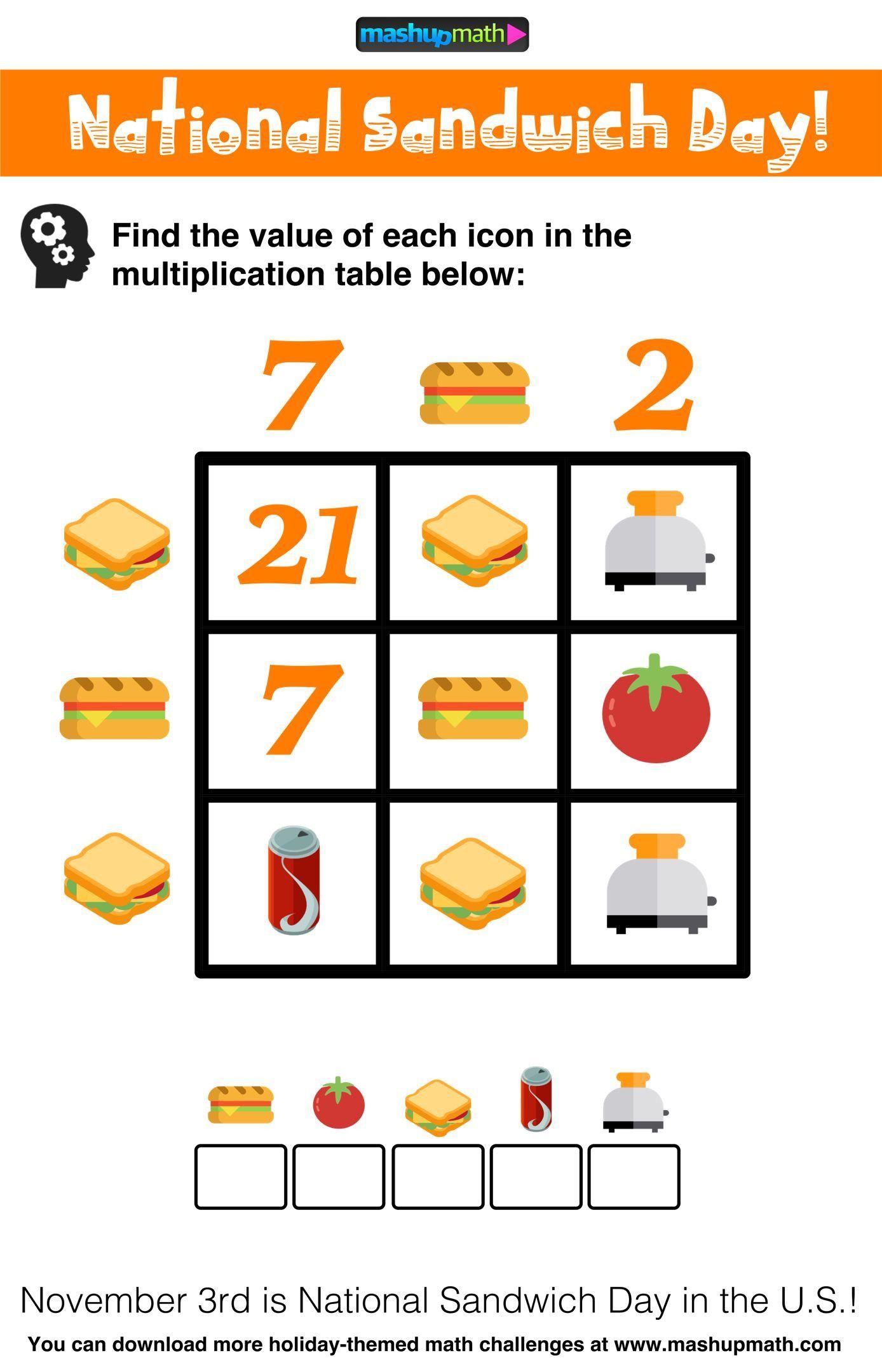 Challenge Math Worksheets Pin by Lori Myers On Mash Up Math   Math challenge [ 2159 x 1388 Pixel ]