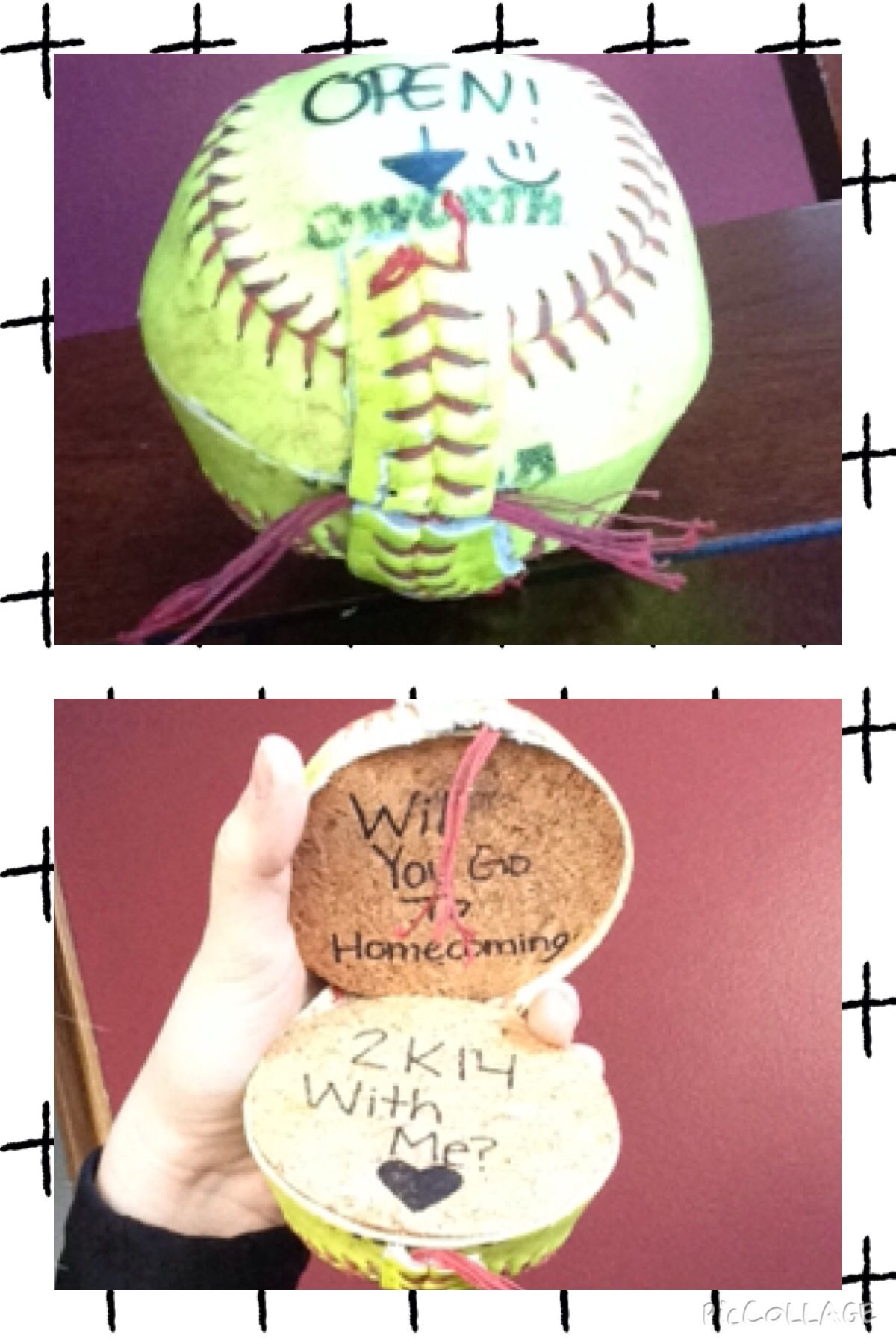 This Is How A Softball Players Asks Someone To Homecoming!