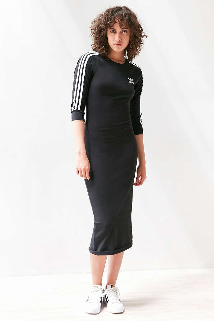 adidas maxi dress
