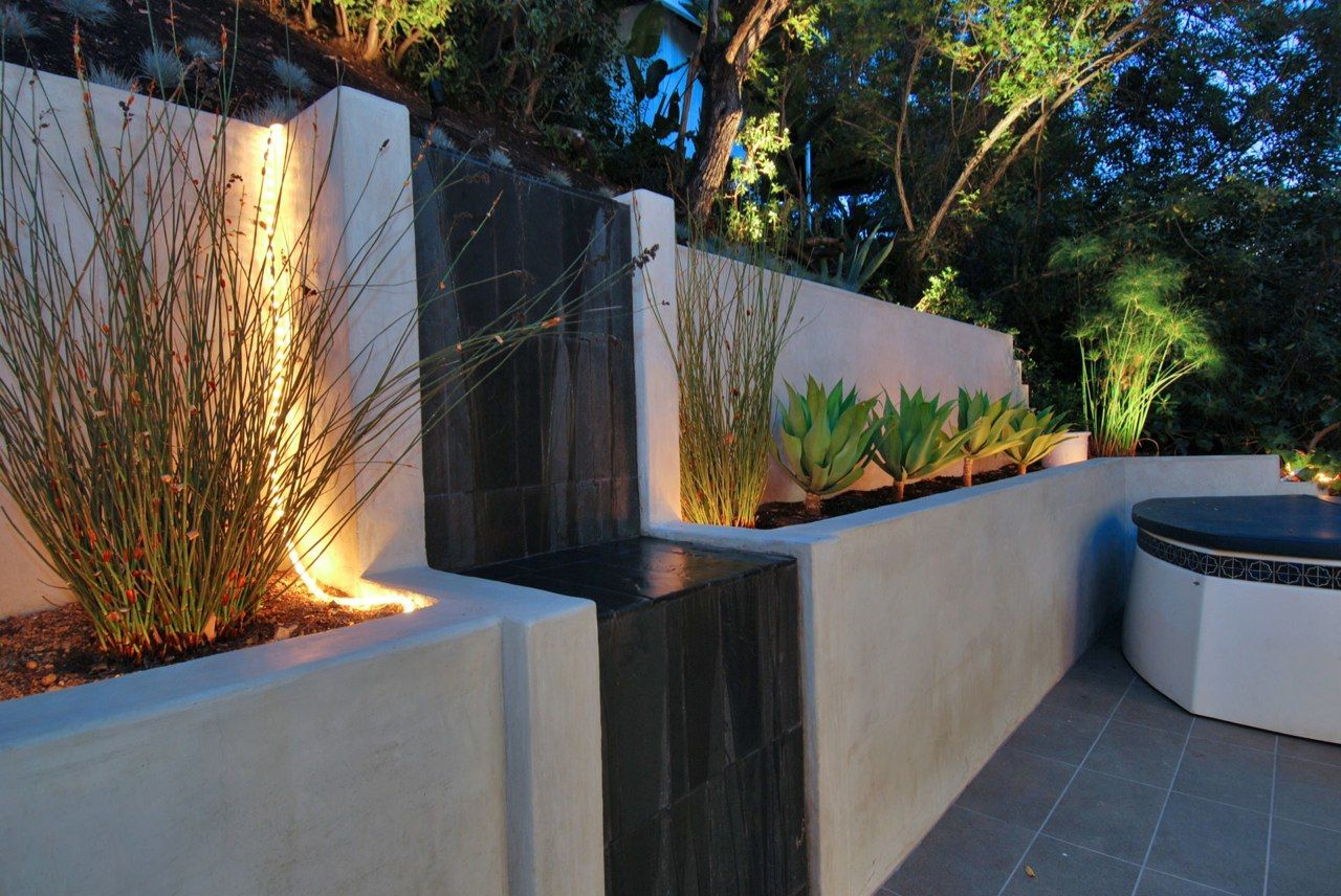 Outdoor Waterfall Outdoor Waterfall Design Outdoor Waterfall