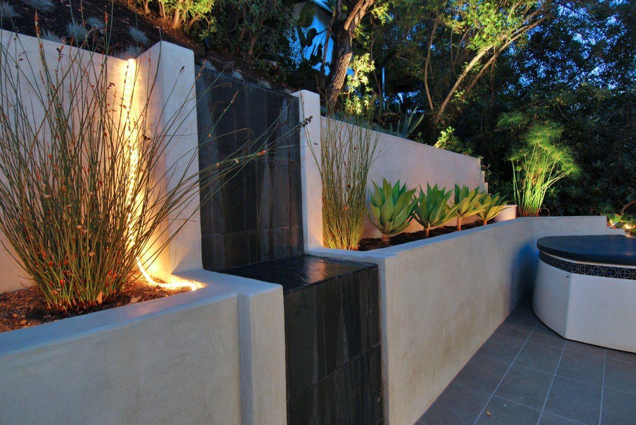 modern flat waterfall parks house design home inspiration house