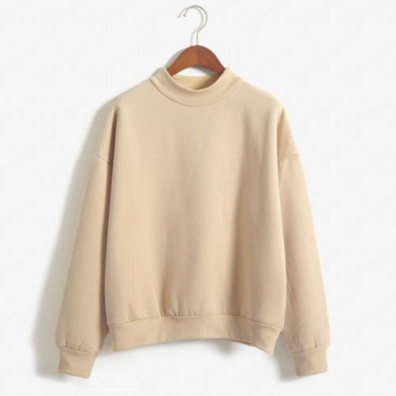 2016 Stile Coreano Loose Women Pullover Maglione di Autunno Donne Maglione In Pile Pullover