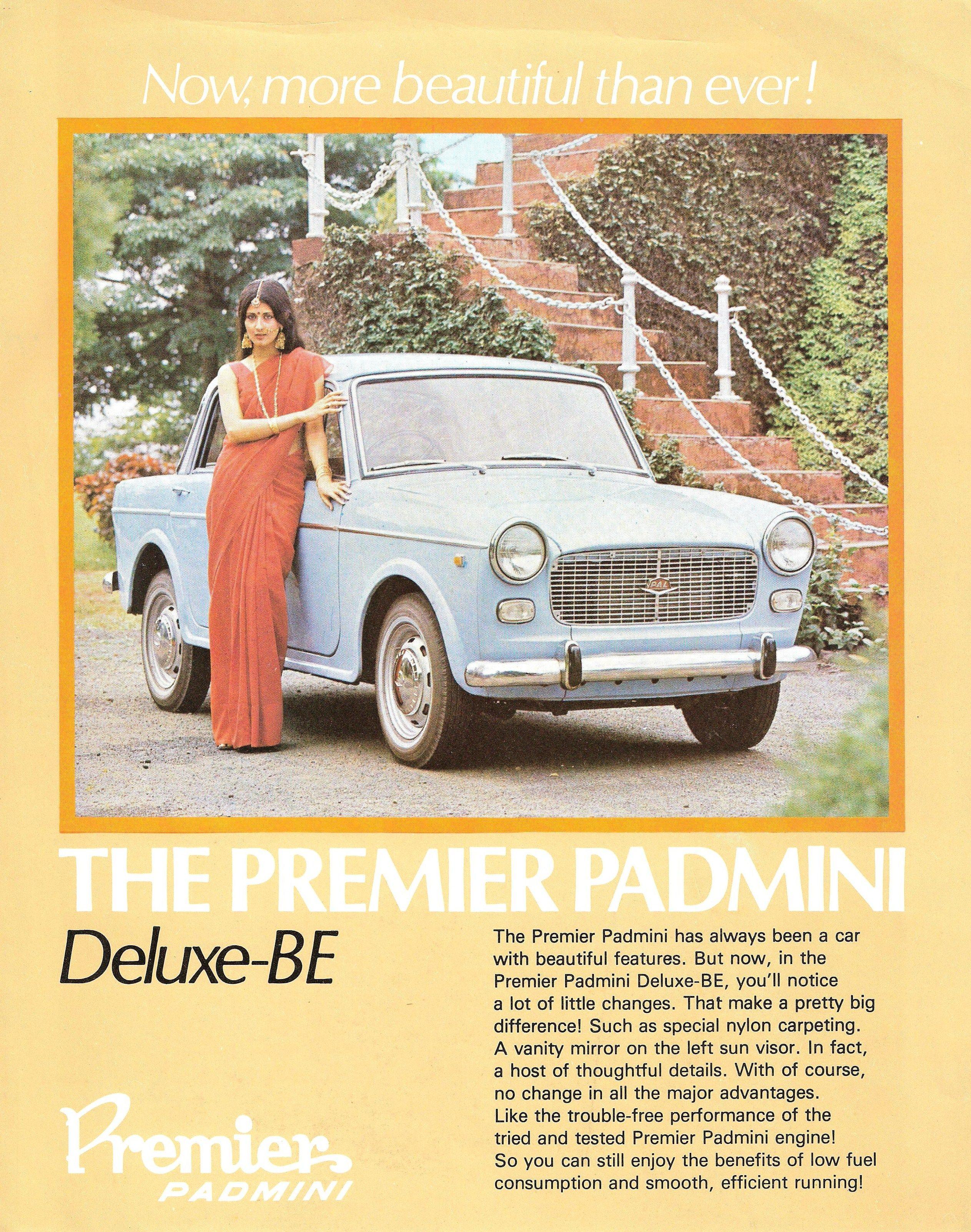 1995 Premier Padmini S1 Deluxe Bu Fiat Fiat Cars Mini Cars