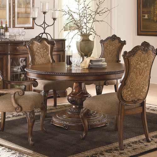 Get Your Pemberleigh Round To Oval Pedestal Table At Whit Ash Furnishings Inc Columbia SC Furniture Store