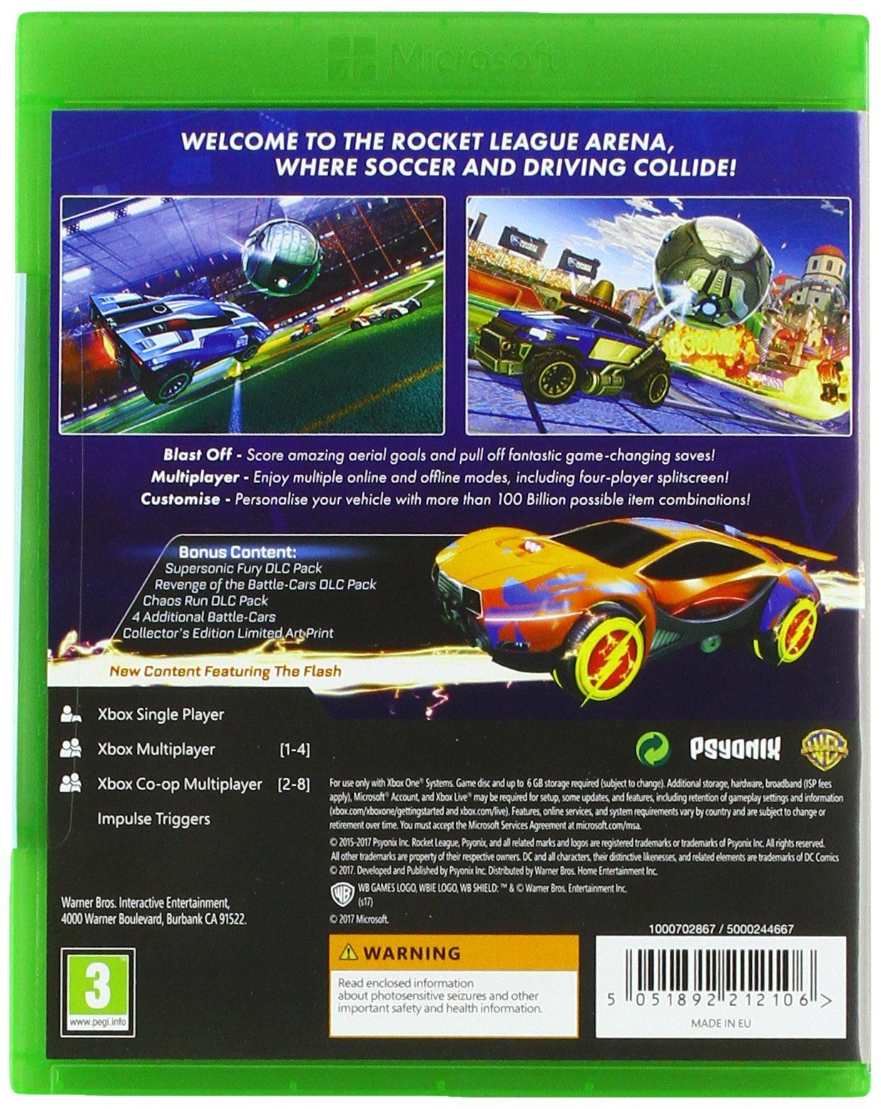 Rocket League Collector S Edition Xbox One League Rocket