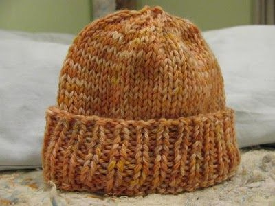 Baby Knitted Hat Pattern Free Version