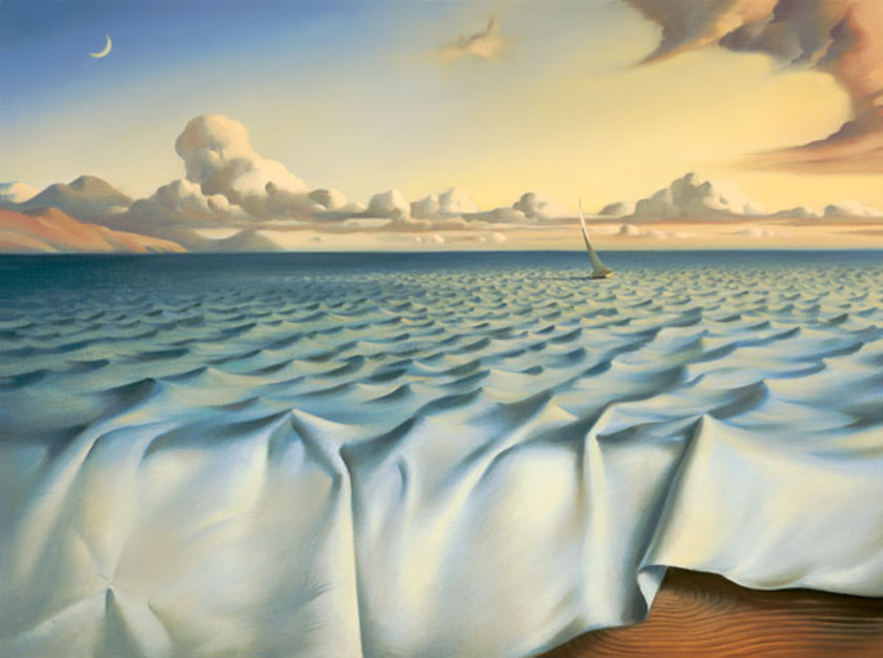 Landschaftsmalerei surrealismus  Salvador Dali #dali #montableau.com | SALVADOR DALÍ | Pinterest ...