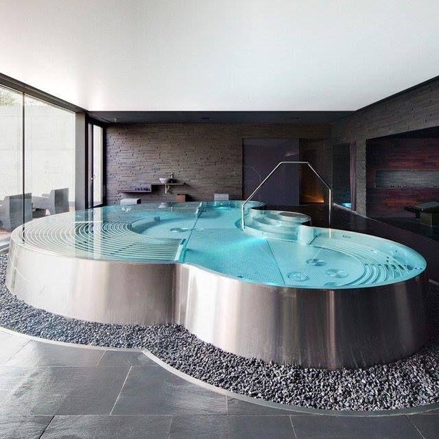 Modern hot tub. Amazing | Homey and Dreamy. | Pinterest | Modern hot ...