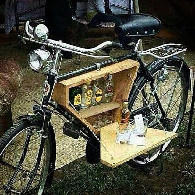 Bike Bar Cargo Bike Bicycle Bar Vintage Bicycles