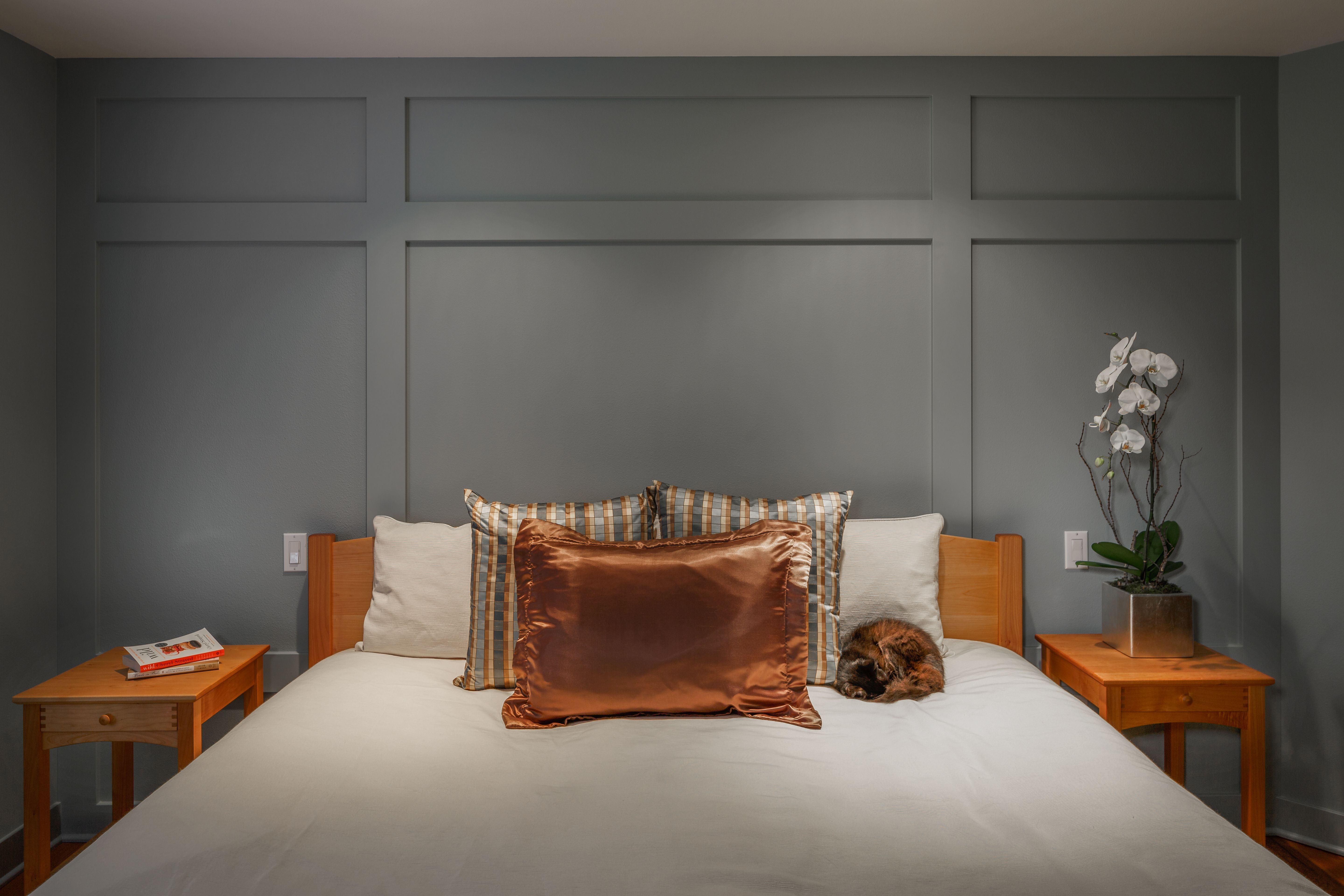 Master bedroom dimensions  Soft and comfortable bedroom designed by Interior Dimensions and