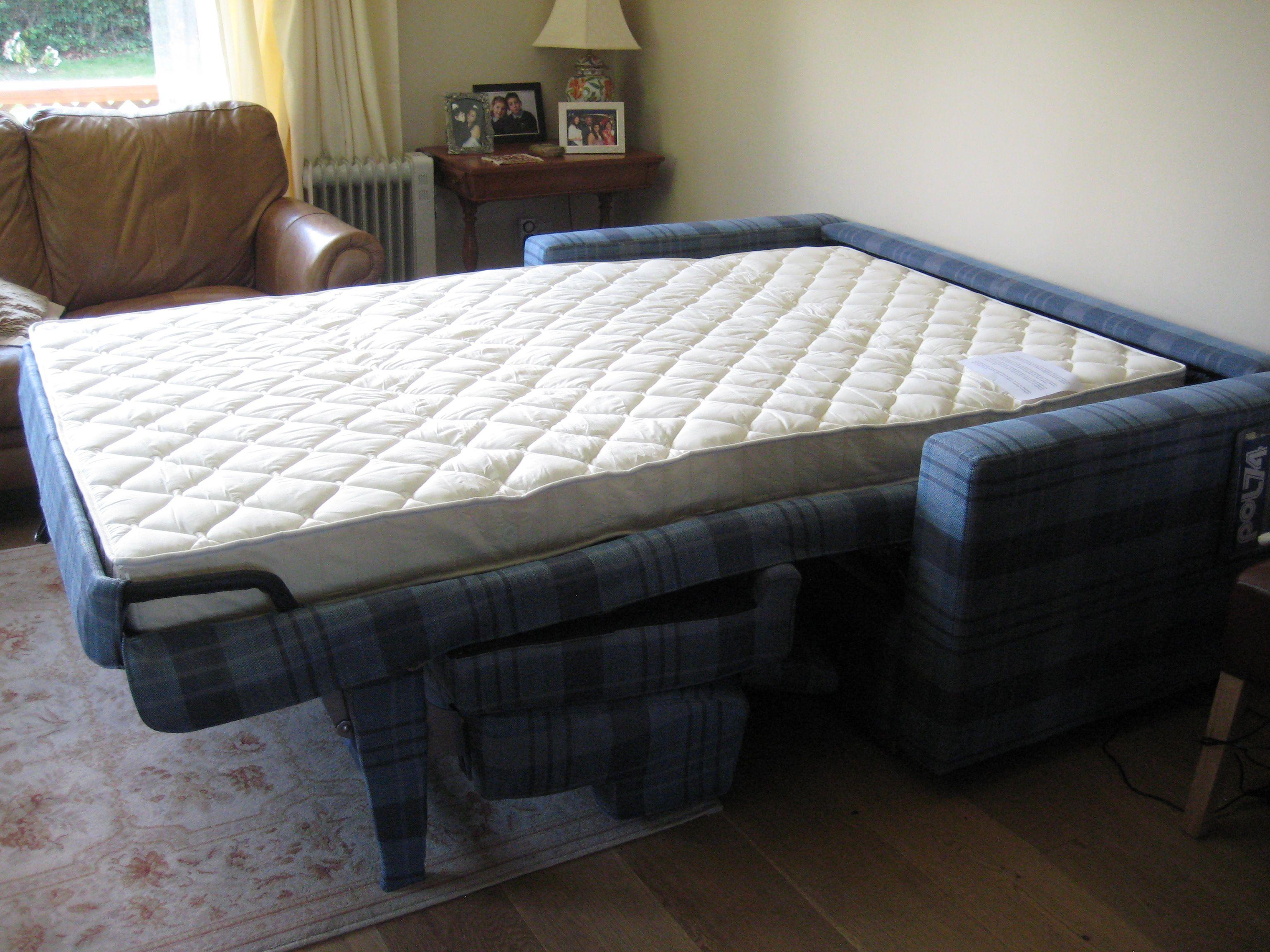 Lario Luxury Sofa Bed Fully Opened With Pocket Sprung Mattress  ~ Sofa Sleeper Mattress Pad