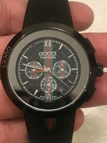 002e7005c Gucci Watch Pantcaon Swiss made